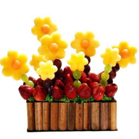 Arreglos de frutas para cumpleaños